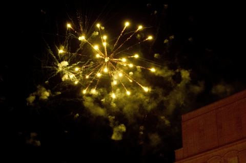 fireworks _reception