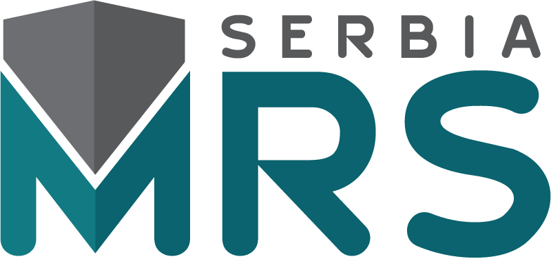 Logo og the Materials Research Society of Serbia